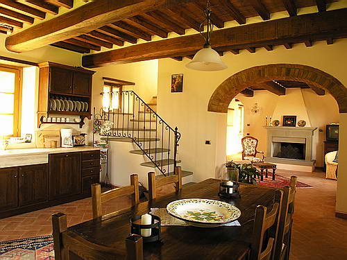 Tuscan Kitchen Living Room