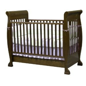 Dark Wood Convertible Crib