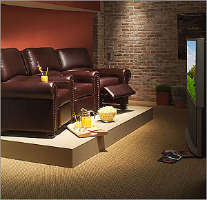 home theater room decorating decor - Home Theater Decor