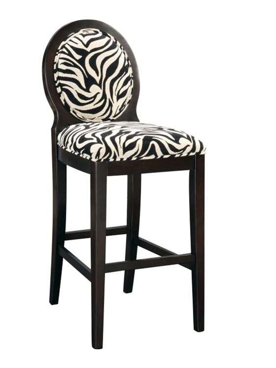 Buy Zebra Print Bar Stool Now