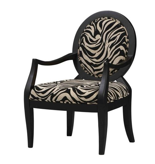 Buy Zebra Print Classic Side Chair Now